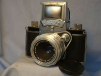 '  EXA 1 + Meyer Primotar ' Exa 1 Gear Shift Vintage Classic SLR Camera £69.99